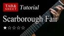 Scarborough Fair - Fingerstyle Lesson
