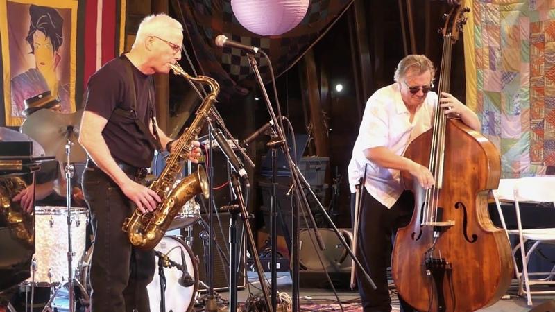 Rich Halley, Michael Bisio, Newman Taylor Baker 5-13-18 Penofin Jazz Festival