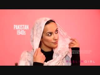 100 Years of Hijab Fashion in 1 Minute (MENA_Asia)