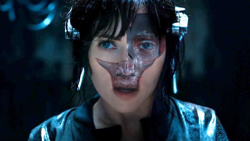 ФИЛЬМ Cyberpunk 2077 Призрак в доспехах Фантастика Боевик