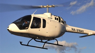 """Helicopter Bell-505 Jet Ranger X (RA-01641) """"HeliRussia-2020"""" / Вертолетная выставка в Крокус-Экспо"""