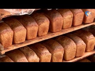Сотрудники Крестецкого хлебозавода показали, как изготавливают выпечку