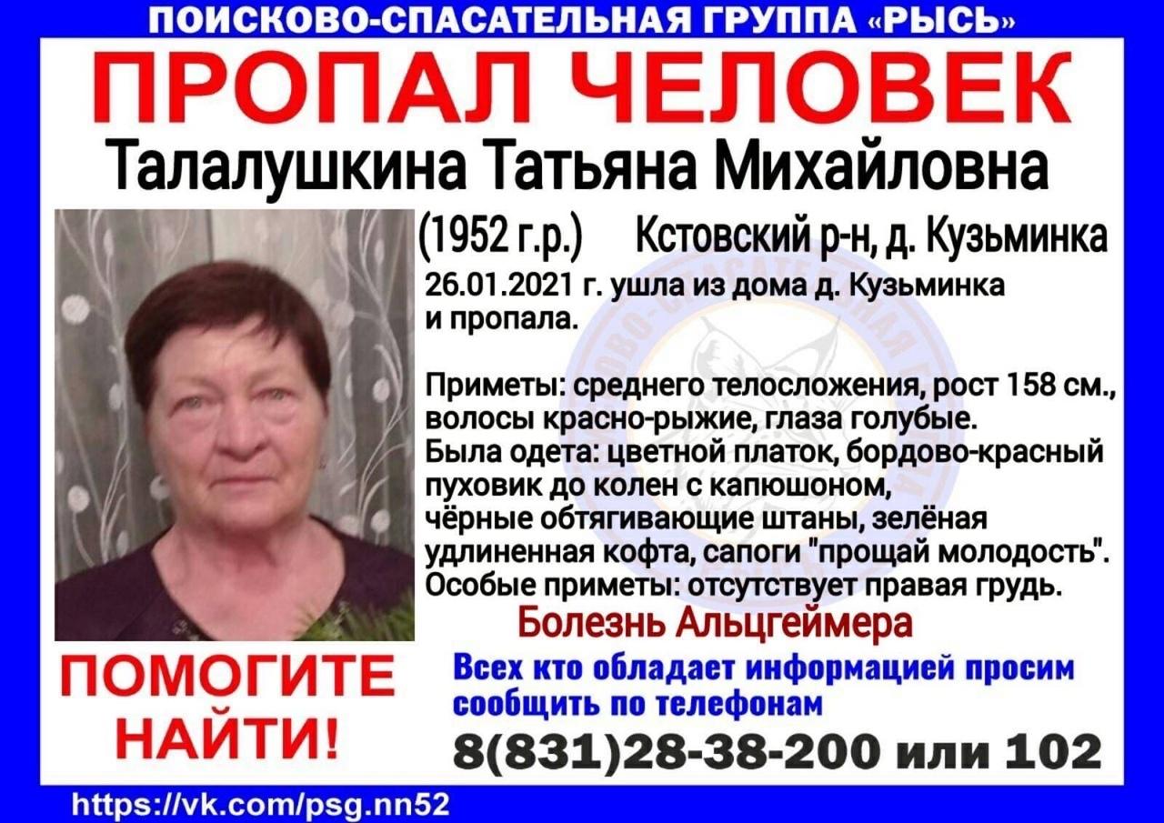 Талалушкина Татьяна Михайловна