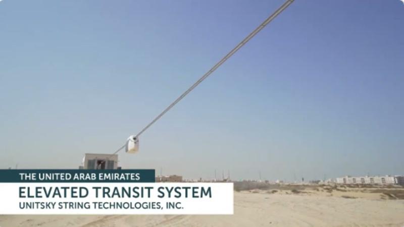 SkyWay 2021 Начало испытаний в ОАЭ 🚝🌍 SRTI Park