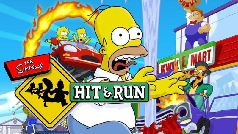 The Simpsons Hit Run - Gameplay PS2 HD 720P