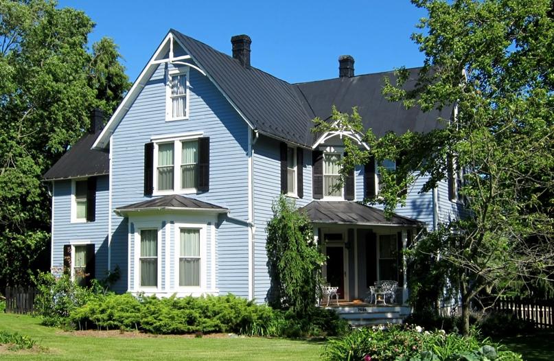 Народный викторианский дом в Мидлтауне, Вирджиния.
