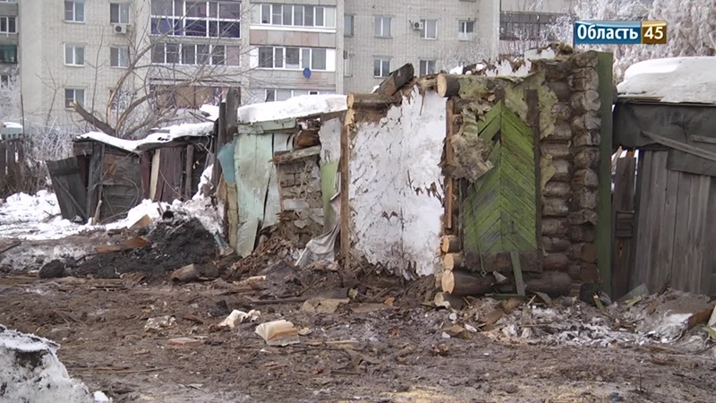 Курганцы обеспокоены строительством многоэтажного дома на берегу Тобола