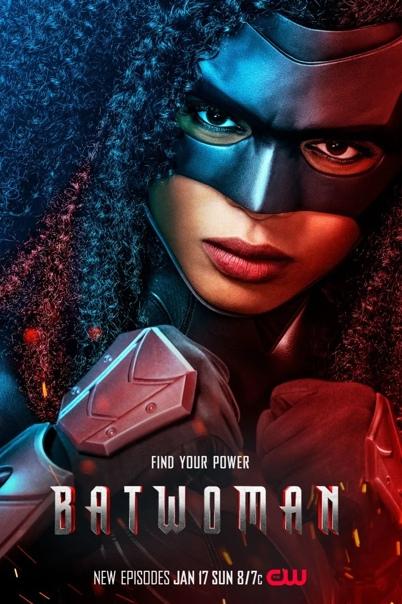 Свежий постер второго сезона «Бэтвумен» Премьера состоится только 17 января. Как бы дождаться...