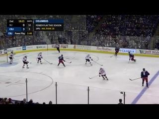 НХЛ(18-19). Тридцать четвёртая результативная передача Артемия Панарина в сезоне 2018-2019.