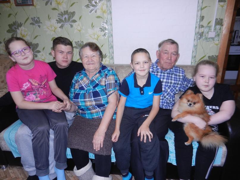 Супруги Алталаевы: «Внуки - наша радость».