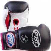 Перчатки для тайского бокса BG-1 FBT (кожа)
