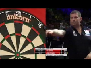 Phil Taylor vs Gary Anderson (Perth Darts Masters 2015 / Semi Final)