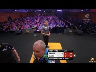 Phil Taylor v Jeff Smith (Grand Slam of Darts 2016 / Round 2)