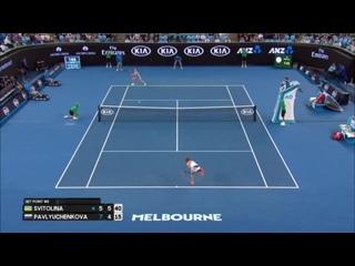 Svitolina v Pavlyuchenkova match highlights (3R) _ Australian Open 2017