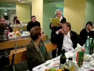 Мой научрук Г.А.Лилич зачитывает сочинение абитуриента о Ленине