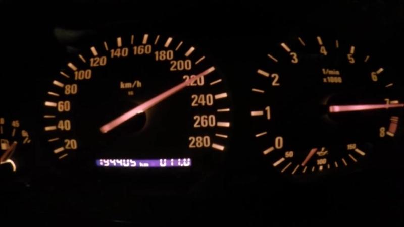 Acceleration TURBO M3 E36 top speed 0 280 1 4bar 2jz