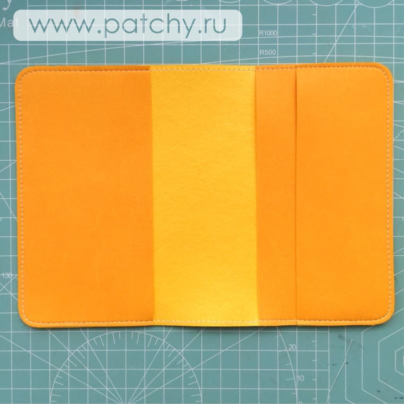 Мастер-класс «Обложка для паспорта», изображение №23