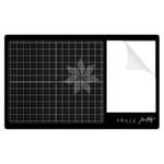 Стеклянный коврик Черный TONIC TH GLASS MAT