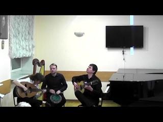 Raiz Latina. Version taqsim for the arabic oud and seven-strings guitar by Simon Shaheen