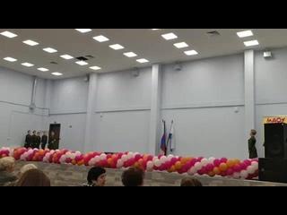 Бери шинель, пошли домой Танцующий город Марфа Николаева  37 школа Великий Новгород