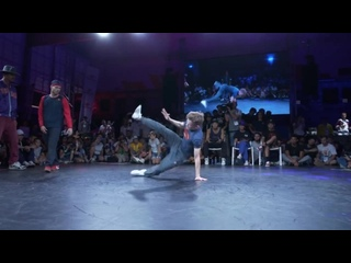B-Boy Menno vs. B-Boy Bumblebee  World Urban Games 2019 Semifinal