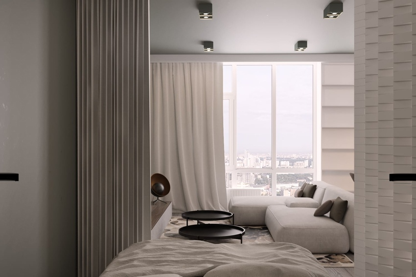 Проект квартиры 56 м.