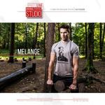 #Melange Series || Футболка серая Унисекс#