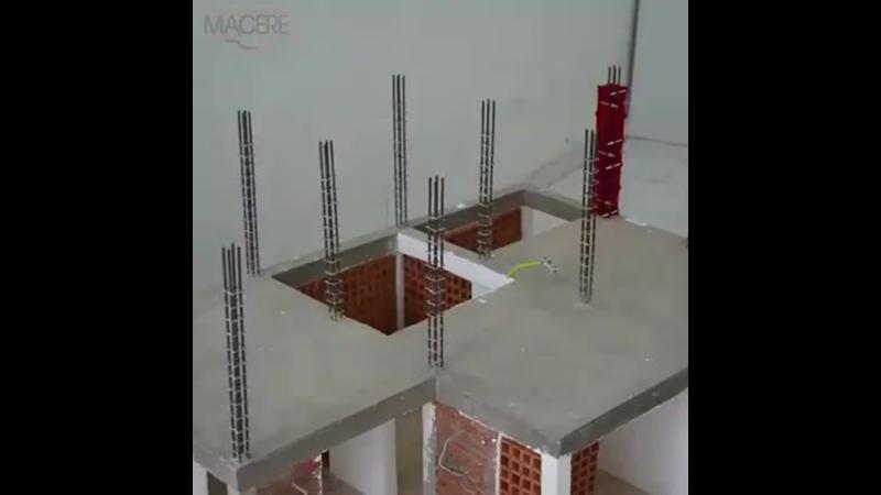 Технология строительства дома с монолитным каркасом