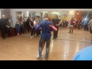 Презентационнеый танец tango от Вячеслава Горячева, Игоря Зорина и Маргариты Голик