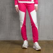 Брюки спортивные розового цвета