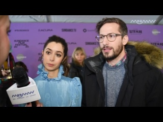 Sundance 2020  Cristin Milioti And Andy Samberg On Working Together In 'Palms Springs' ¦ MEAWW