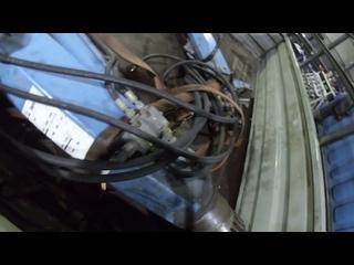 Интересный дуэт... Манипулятор Tirre Euro 35 и праворульная Toyota. Замена бронзовых втулок в ОПУ