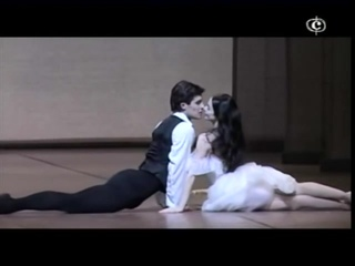"""Roberto Bolle and Alessandra Ferri """"The Lady of the Camellias"""""""