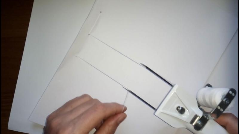 Видеоинструкция по работе с новым сшивателем документов