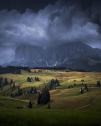 Прекрасные Доломиты (Италия) в объективе пейзажного фотографа Майкла Шайнблюм.