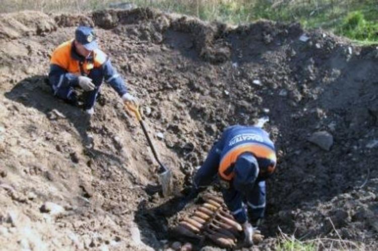 С начала 2021 года на территории Ростовской области обнаружено 19 боеприпасов