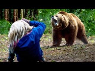 Девушка когда-то помогла медвежонку выжить без матери, и вот как он ей отплатил