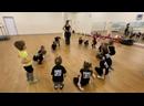 Игровой фрагмент с занятия в группе 3-4 года. Филиал Луч. Школа танцев Dance Lifе в Белгороде.