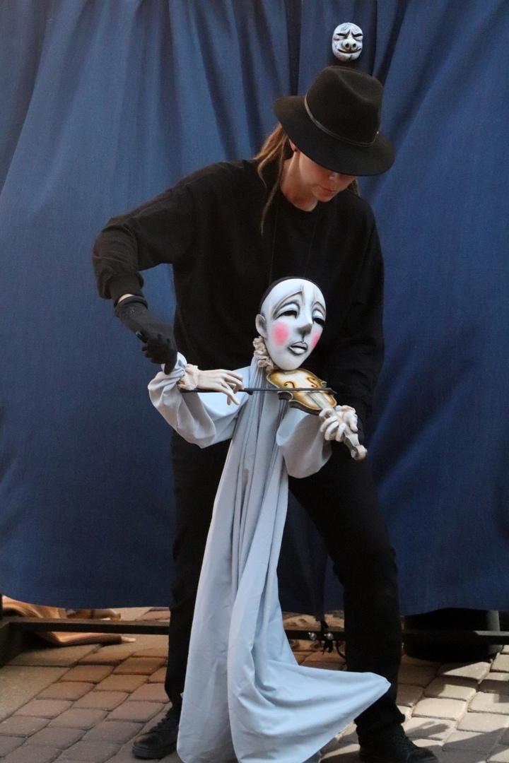 Спектакль «Театр в кармане» театра кукол «Волшебная шляпа» (Сергиев Посад)