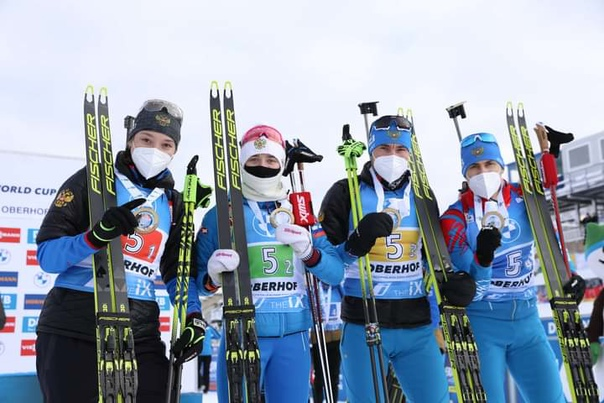 ☀️ Ульяна Кайшева прокомментировала победу команды в смешанной эстафете на этапе...