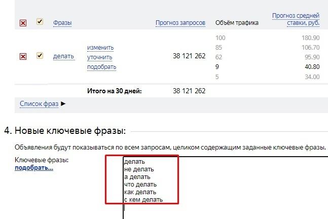 как Яндекс понимает запросы пользователей стоп-слова
