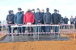 Первые в ЦФО крупномасштабные пожарные учения прошли в селе Вербилово