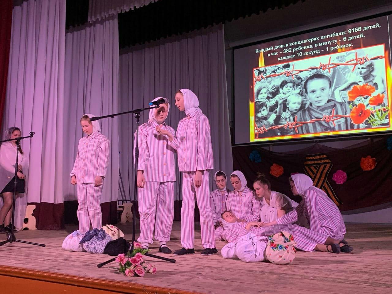 В Можге прошёл Первый открытый фестиваль театральных постановок Детям о детях войны