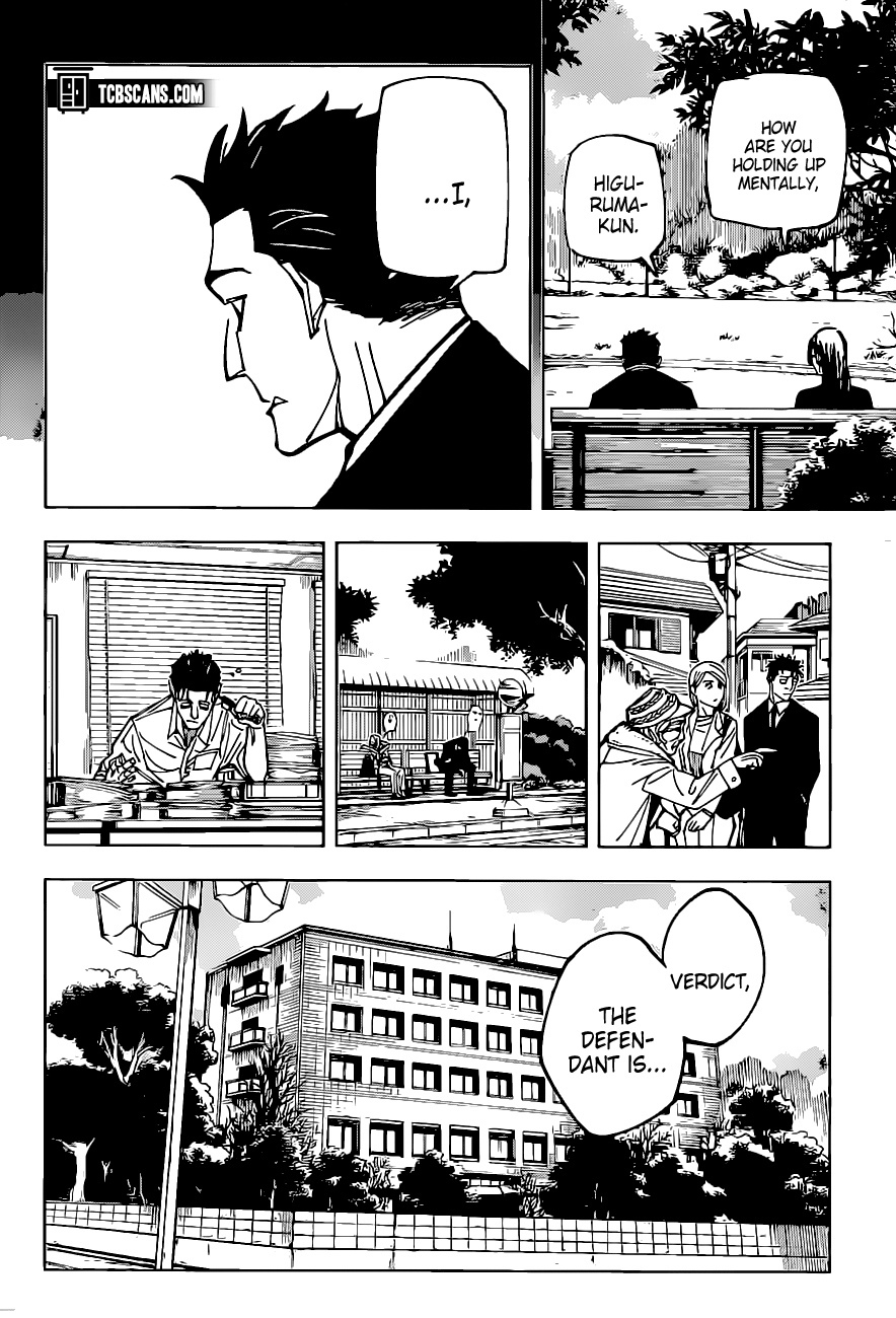 Jujutsu Kaisen Chapter 159, image №10