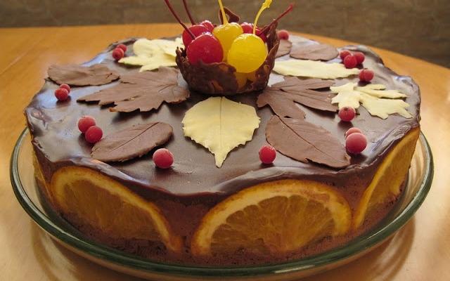 Как сделать листья и перья из шоколада для тортов