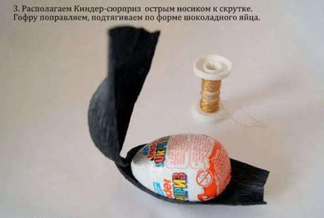 Божьи коровки из конфет и киндеров своими руками - МК и идеи, как сделать Божью коровку из киндер-сюрприза мастер-класс пошагово,