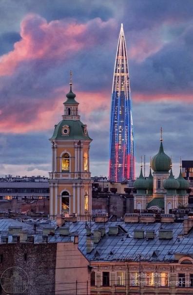 Такой разный Петербург... В нём сочетаются, казало...