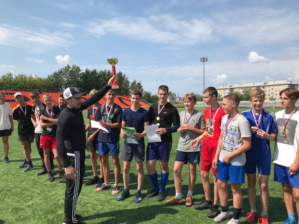 Турнир по футболу среди юношеских дворовых команд по месту жительства 2021