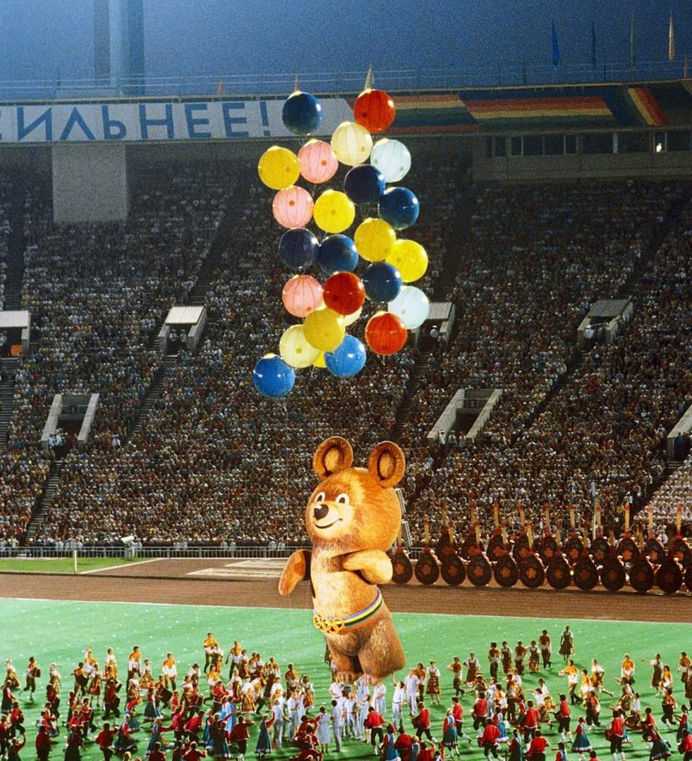 В этот день 41 год назад, 19 июля 1980 года, в Москве открылись XXII летние Олимпийские игры