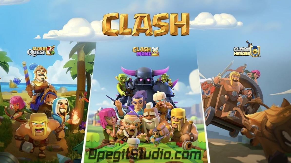 3 новых игры Clash в разработке!